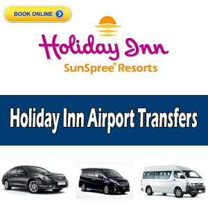 holiday inn airport transfers